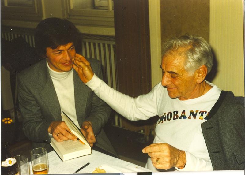 Leonard Bernstein in Vienna State Opera