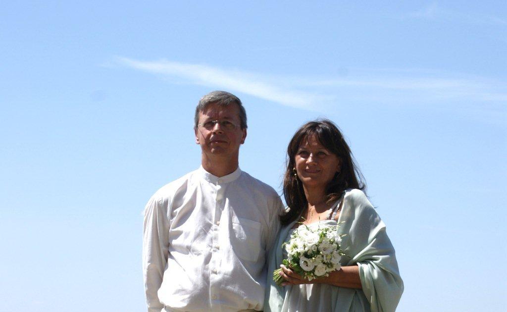 wife Zofia